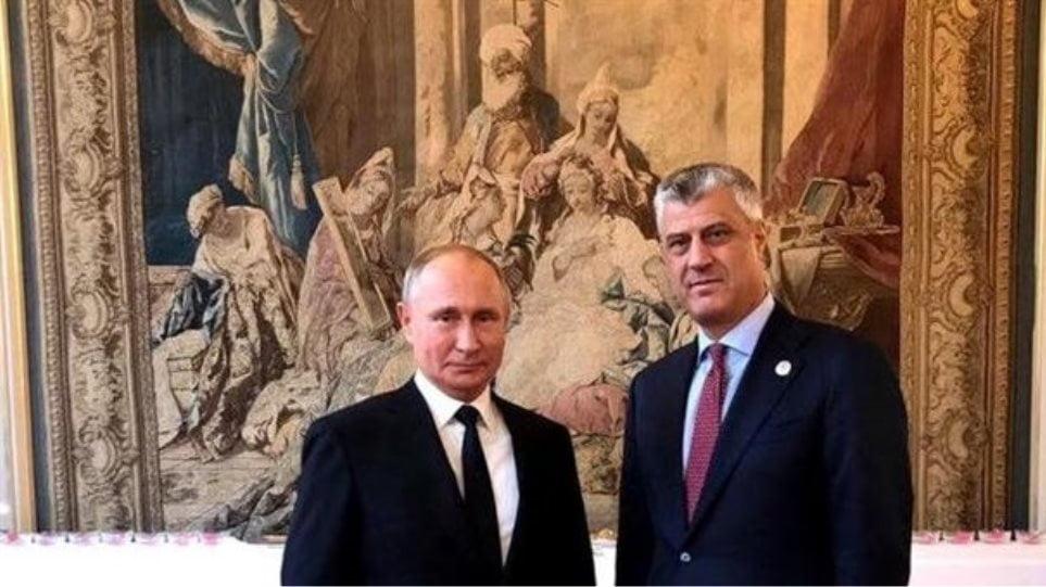 Συνάντηση Πούτιν – Θάτσι στο Παρίσι: Πικρία στο Βελιγράδι, ικανοποίηση στην Πρίστινα
