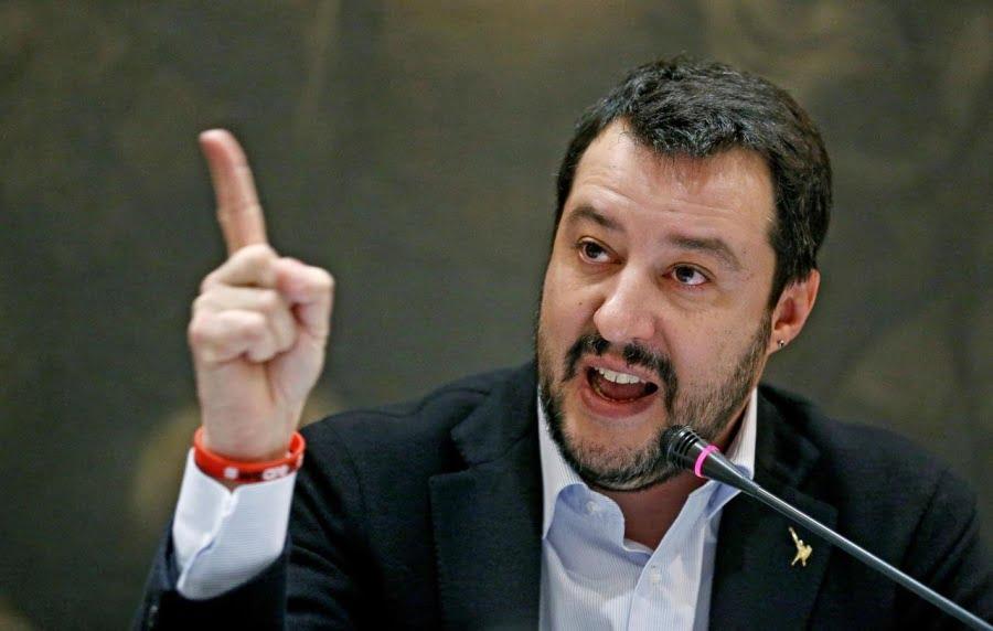 Salvini: Θα είναι τρελοί εάν μας επιβάλλουν κυρώσεις – Θα ξεσηκωθούν 60 εκατ. Ιταλοί