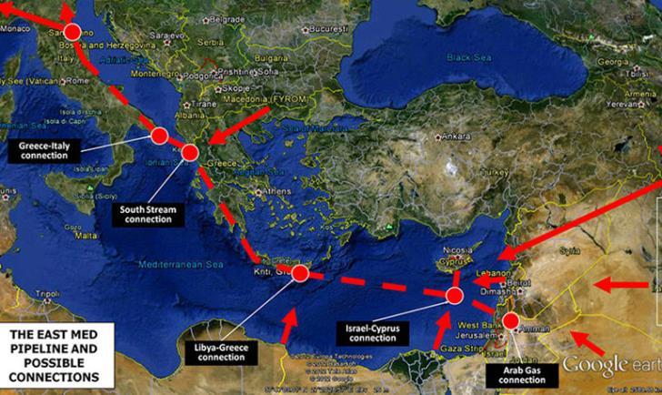 Κλείδωσε η τετραμερής συμφωνία για αγωγό East Med