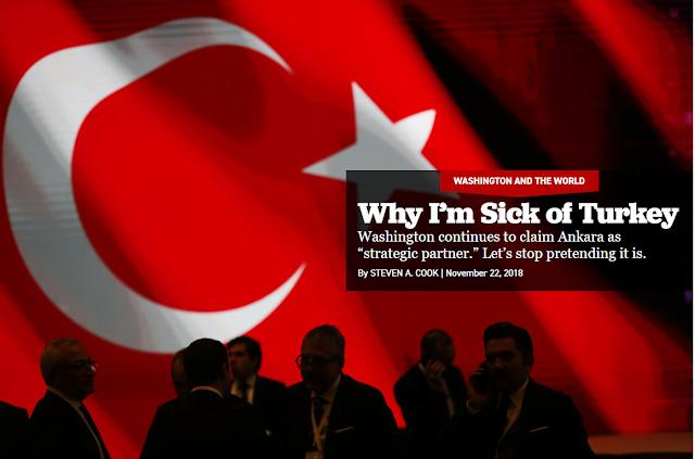 Γιατί σιχάθηκα την Τουρκία