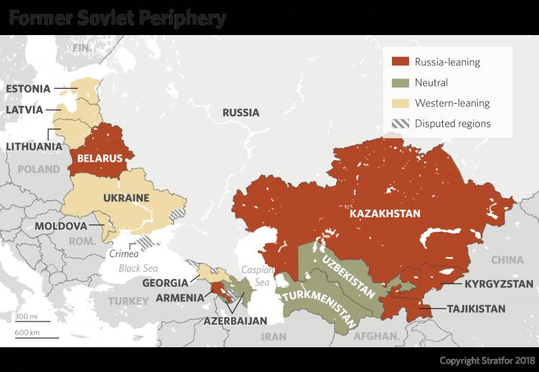 Stratfor : Τα «σύνορα» της Ρωσίας μπαίνουν στο στόχαστρο των ΗΠΑ