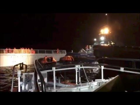 Σύγκρουση Νορβηγικής φρεγάτας με το Ελληνικό δεξαμενόπλοιο Sola TS