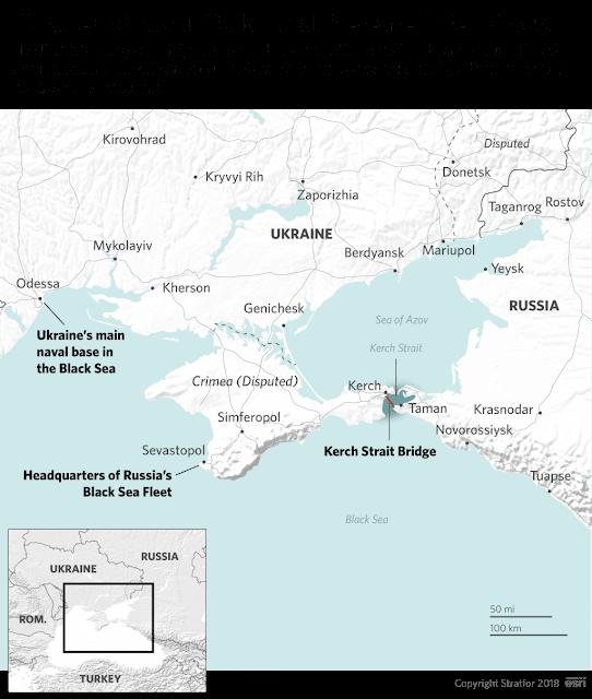 Stratfor : Πού οφείλεται το νέο επεισόδιο μεταξύ Ρωσίας- Ουκρανίας