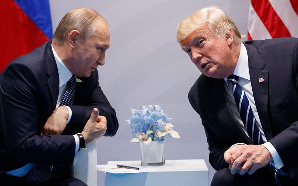 Ο Τραμπ ακύρωσε τη συνάντηση με τον Πούτιν λόγω Κριμαίας