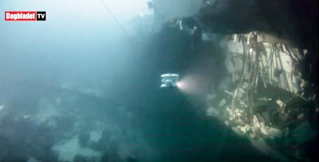 Ρήγμα 45 μέτρων από τη σύγκρουση με το τάνκερ στη νορβηγική φρεγάτα! (vid.)