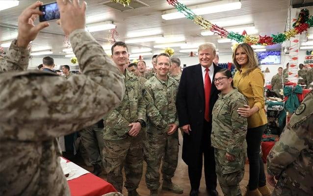 Ο Τραμπ αποκάλυψε «κατά λάθος» τις ταυτότητες των πεζοναυτών στο Ιράκ