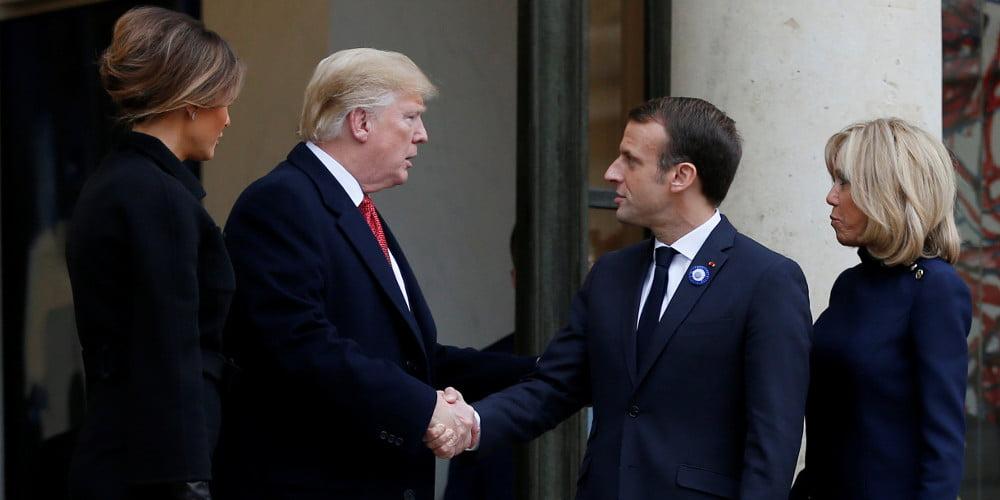 Τραμπ και Μακρόν συζήτησαν την έκτακτη σύγκληση των μονίμων μελών του ΣΑ του ΟΗΕ