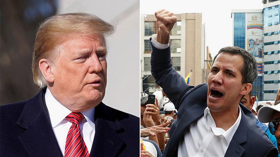 Ρεσάλτο στην Βενεζουέλα. Η Ουάσιγκτον Διόρισε Έναν Πρόεδρο Στην Βενεζουέλα