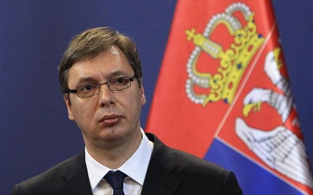 Βούτσιτς: Η Σερβία θα αναγνωρίσει πρώτη τα Σκόπια με το νέο όνομα