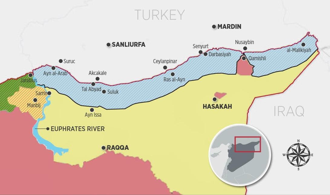 Τουρκική «ζώνη ασφαλείας» στη βορειοανατολική Συρία, μια κακή ιδέα