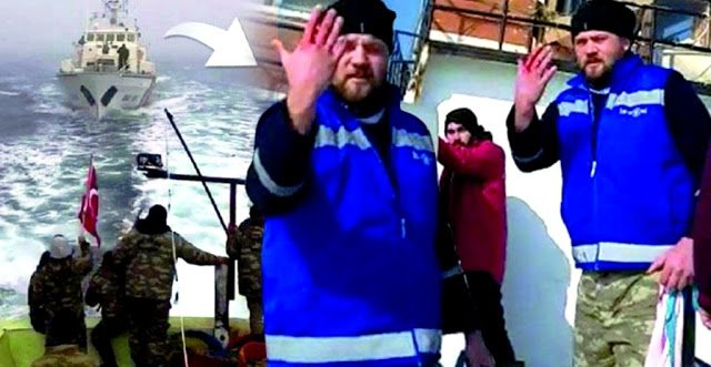 Βίντεο – Πυρά του ρουμανικού λιμενικού κατά Τούρκων ψαράδων που δεν υπάκουσαν – Τρεις τραυματίες