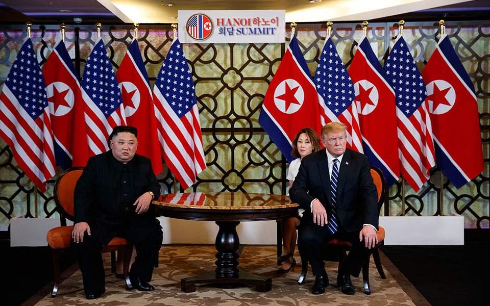 Χωρίς συμφωνία η Σύνοδος Ντ. Τραμπ και Κιμ Γιονγκ Ουν – «Μερικές φορές πρέπει να αποχωρείς» δήλωσε ο πρόεδρος των ΗΠΑ