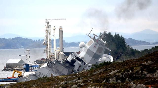 Το νορβηγικό ναυτικό ανατίναξε τορπίλες στο ναυάγιο πολεμικού πλοίου (βίντεο)