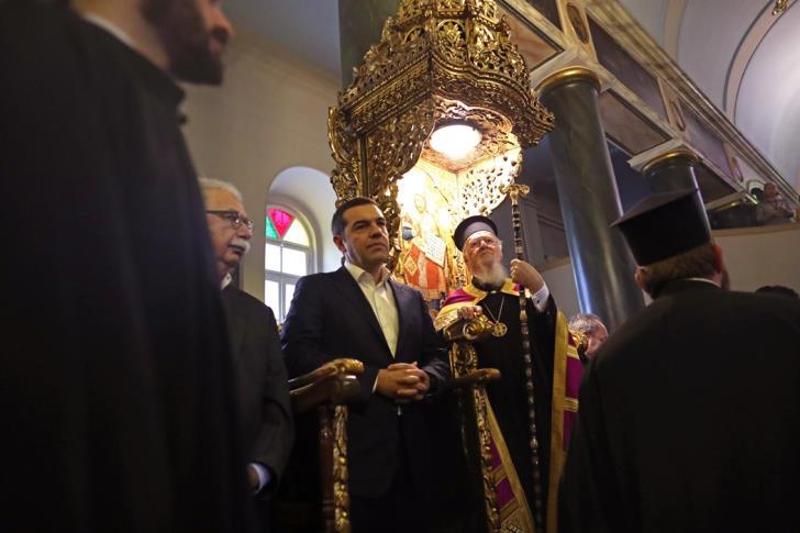 Στην Χάλκη ο Ελληνας Πρωθυπουργός