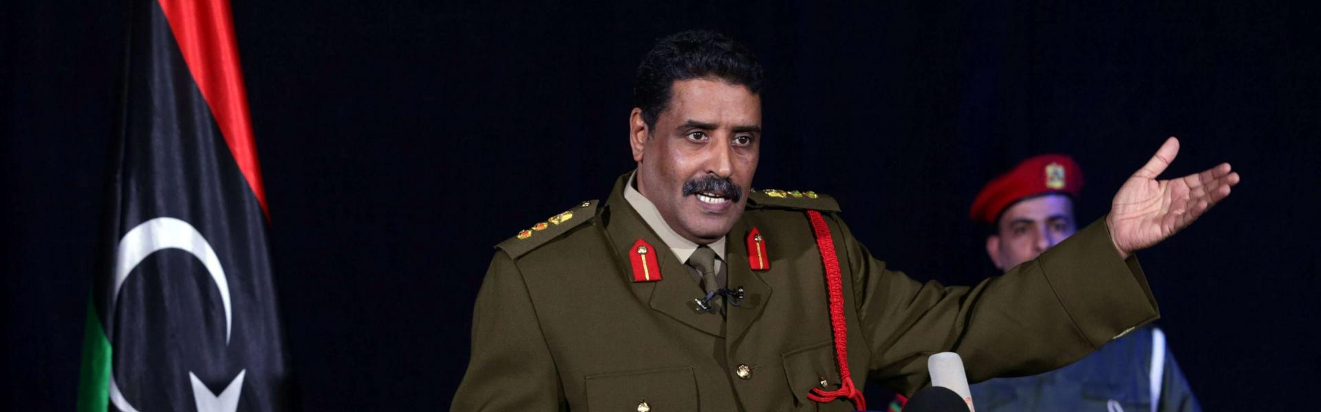 Ο Εθνικός Στρατός της Λιβύης ζητά από τον ΟΗΕ να επιβάλει κυρώσεις στην Τουρκία επειδή στηρίζει την τρομοκρατία