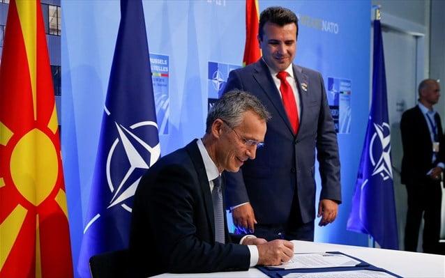 Στόλτενμπεργκ: 6 Φεβρουαρίου η «μελλοντική Β. Μακεδονία» στο ΝΑΤΟ