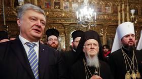 Ελληνική Ορθόδοξη Ενορία  στις ΗΠΑ Εγκαταλείπει το Πατριαρχείο Κωνσταντινούπολης και Καταφεύγει στης Μόσχας  Λόγω του Ουκρανικού Σχίσματος.