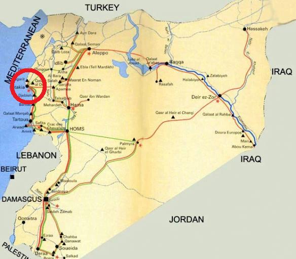 Ιστορική εξέλιξη – Μετά τη ναυμαχία της Σαλαμίνας, το Ιράν αποκτά μεσογειακό λιμάνι στις ακτές της Συρίας