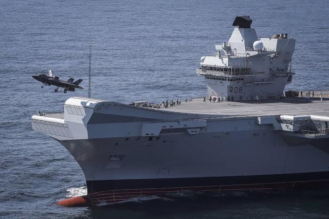 Οι Βρετανοί φέρνουν στην Κύπρο τα F-35 – Θα καταπλεύσει και το HMS Queen Elizabeth