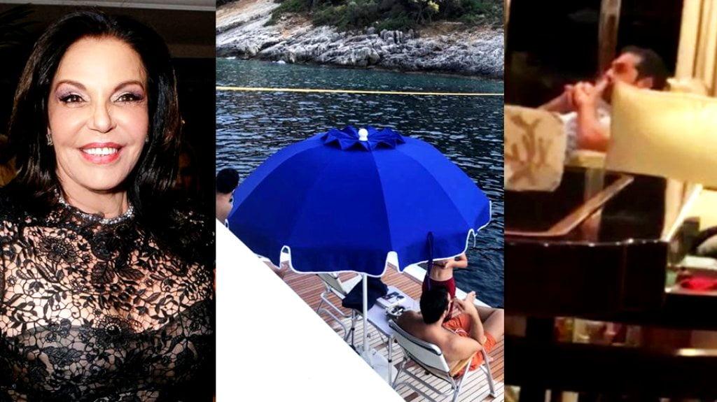 Κατερίνα Παναγοπούλου: Στο σκάφος μας έκανε διακοπές ο Τσίπρας