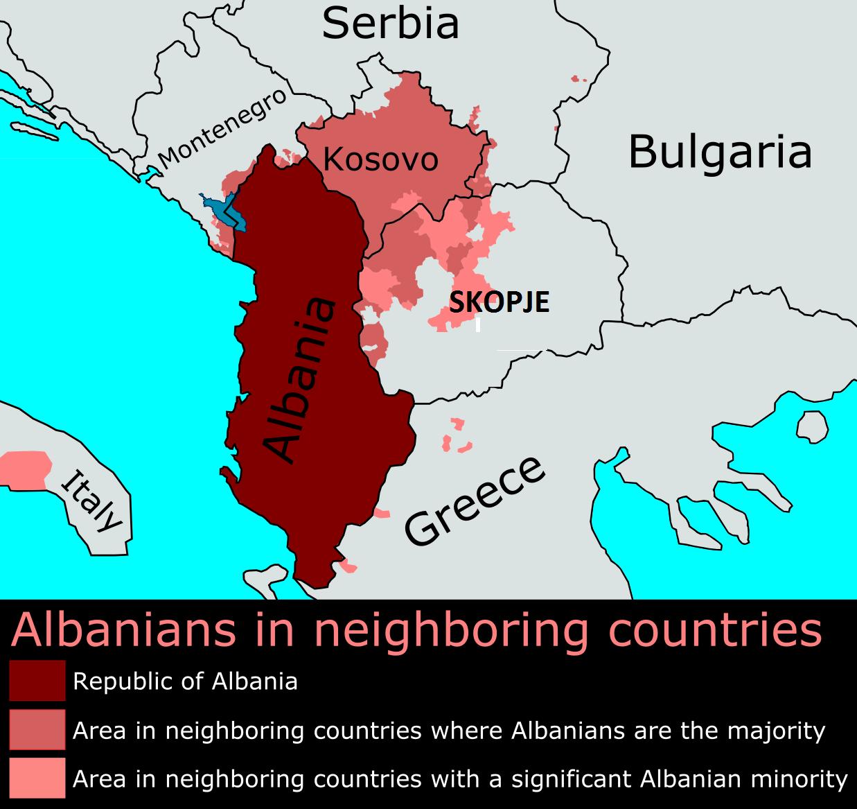 Το Κόσοβο ετοιμάζεται για ένωση με την Αλβανία