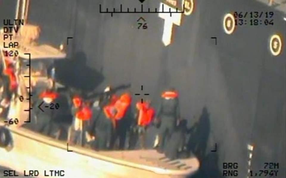 Θάλασσα Ομάν: Οι ΗΠΑ δημοσιοποιούν νέες φωτογραφίες που «ενοχοποιούν» το Ιράν