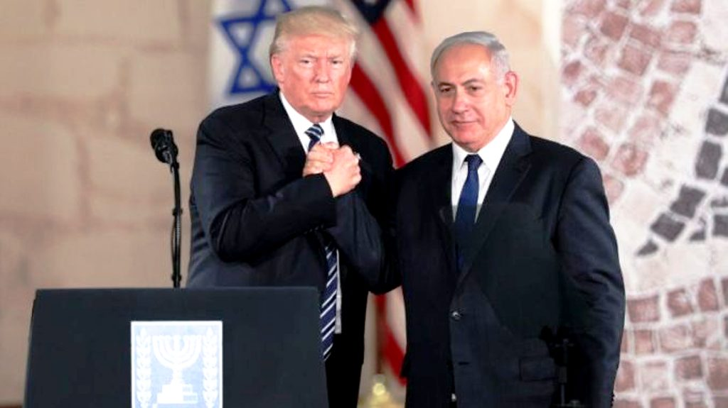 """Νετανιάχου: Το ειρηνευτικό σχέδιο του Ντ. Τραμπ για το Μεσανατολικό θα είναι """"ιστορικό"""""""