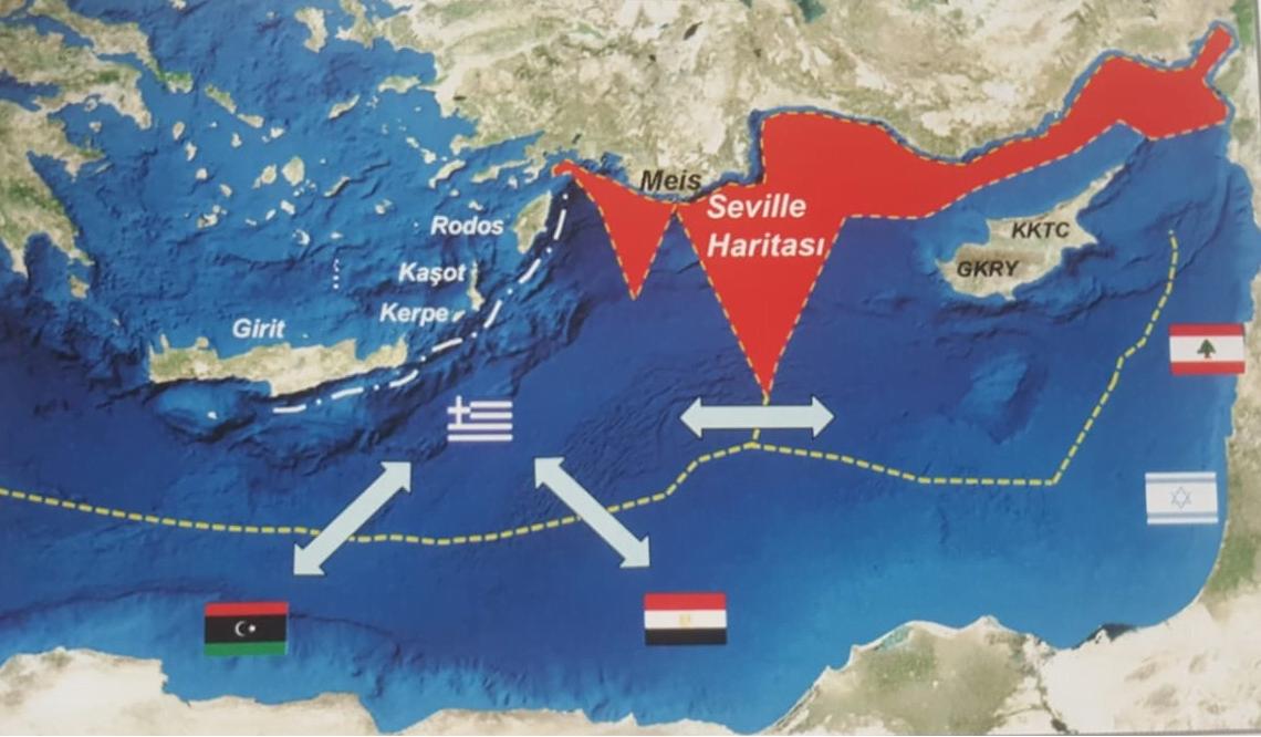 Πέντε ερωτήματα των Ερντογάν-Τσαβούσογλου μετά τη συμφωνία οριοθέτησης θαλασσίων ζωνών Ελλάδος-Ιταλίας
