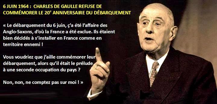 Γιατί ο Σαρλ Ντε Γκωλ αρνήθηκε πάντα να τιμήσει τη τελετή μνήμης της απόβασης της 6ης Ιουνίου; (1)
