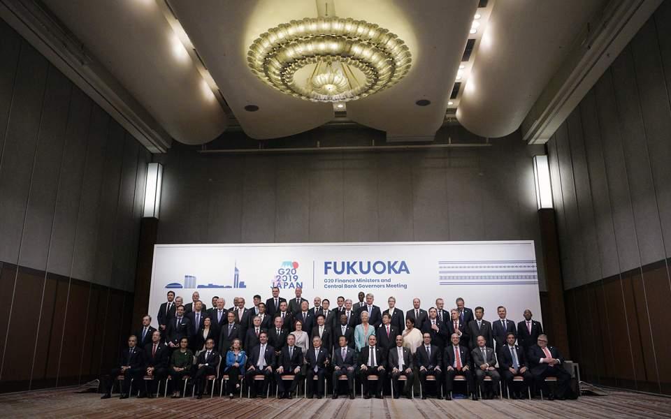 G20: Εκκληση για επίλυση της εμπορικής σύγκρουσης ΗΠΑ – Κίνας