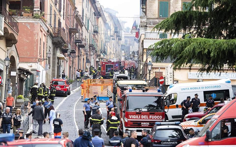 Έκρηξη σε κτίριο κοντά στην Ρώμη – Τραυματίστηκαν παιδιά από τα θραύσματα
