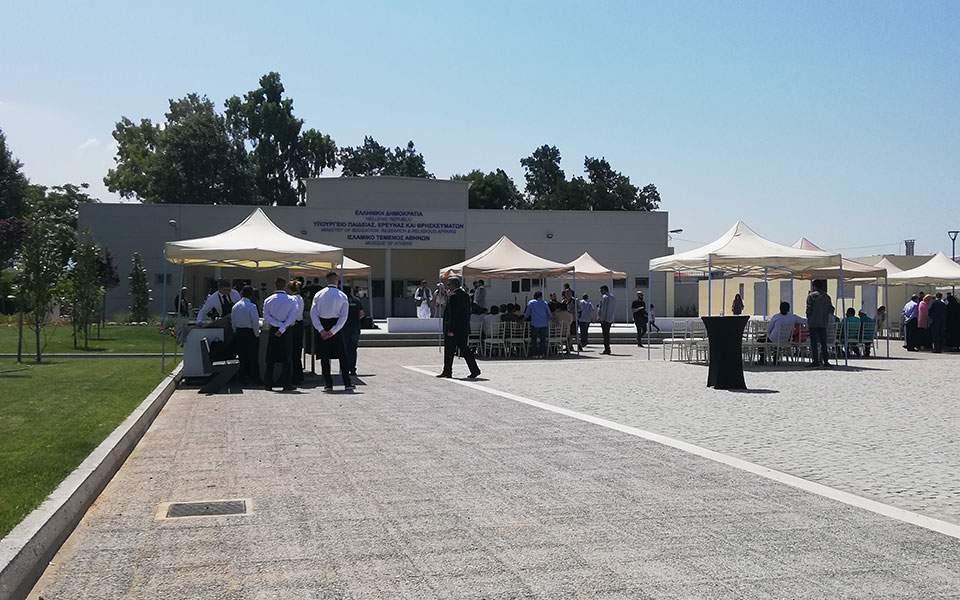 Εγκαινιάζεται το ισλαμικό τέμενος παρουσία Γαβρόγλου (φωτογραφίες)