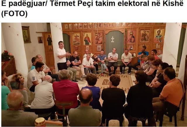 Αλβανία: Το ρεπουμπλικανικό κόμμα κατηγορεί τον Ράμα για βεβήλωση Εκκλησίας!