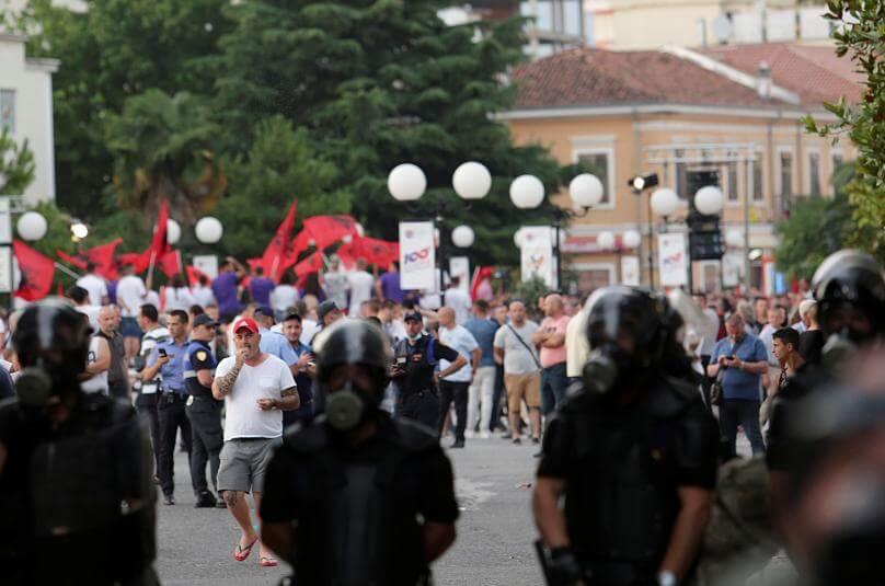 Επεισόδια σε προεκλογική συγκέντρωση του Ράμα στην Σκόδρα