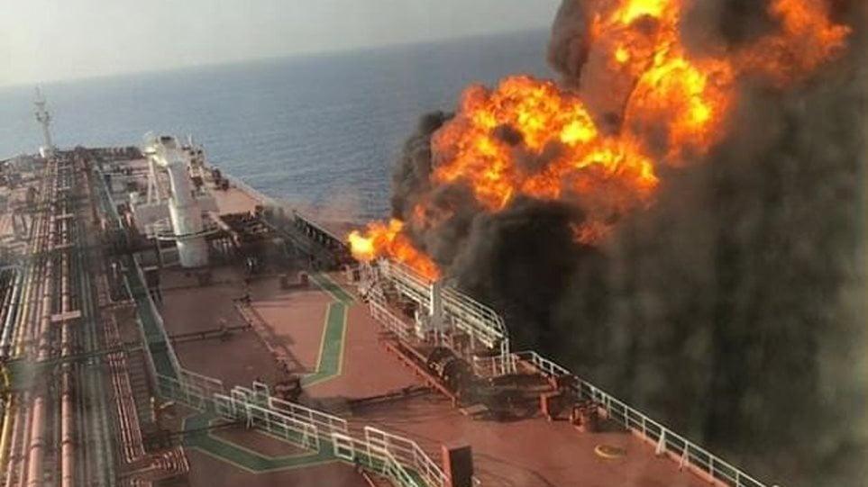 ΗΠΑ για επίθεση σε τάνκερ στον Κόλπο του Ομάν: Δαχτυλικά αποτυπώματα και νάρκη δείχνουν το Ιράν