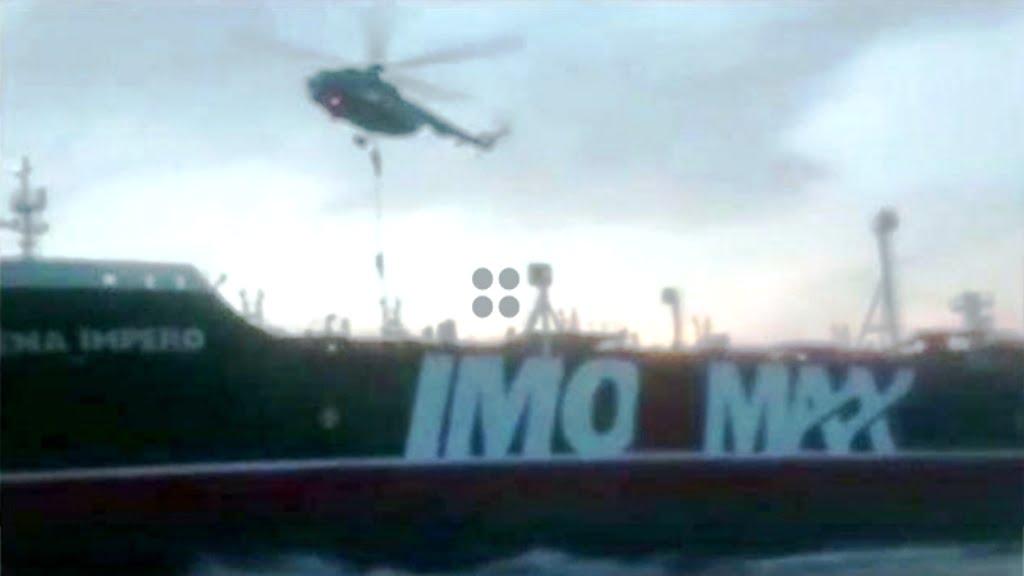 Η νηοψία από τις ειδικές δυνάμεις των Φρουρών της Ιρανικής Επανάστασης του βρετανικού πετρελαιοφόρου Stena Impero