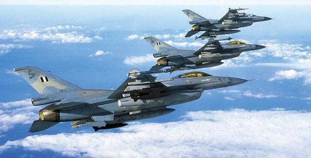 Όλα όσα συνέβησαν μεταξύ ελληνικών & τουρκικών F-16