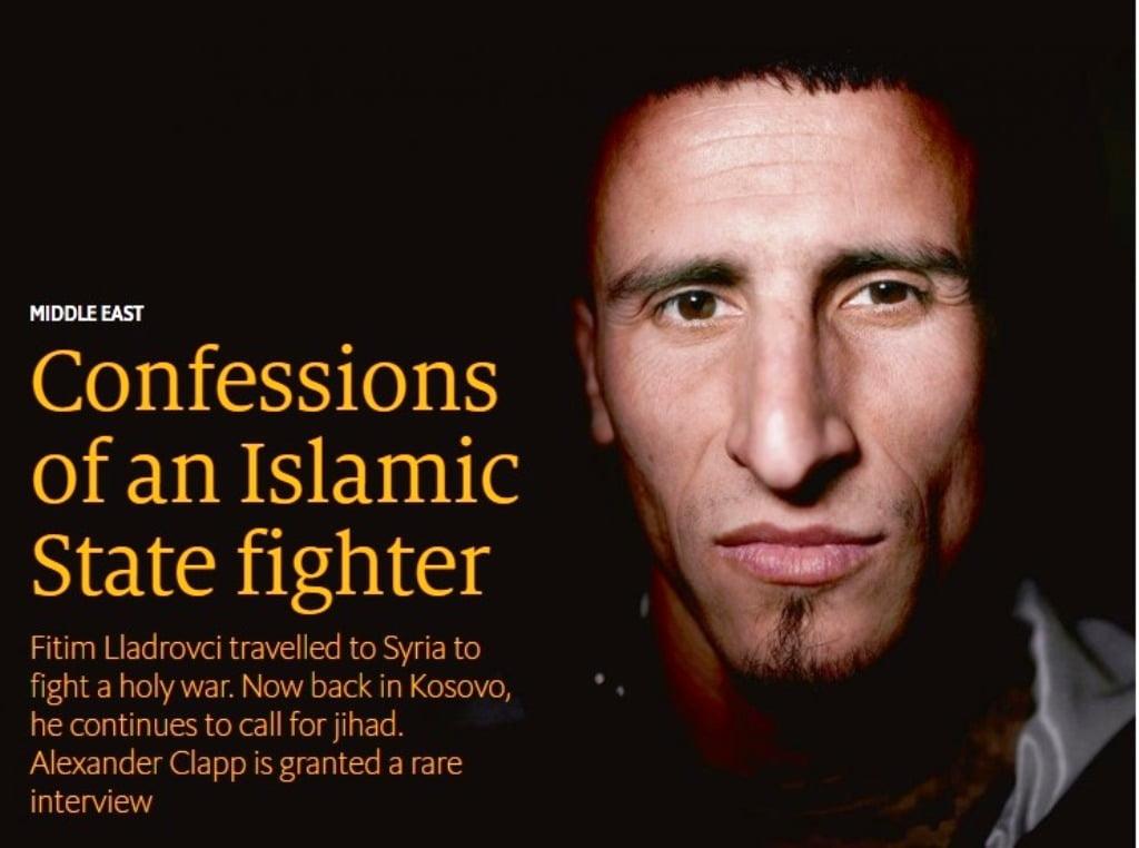 Εξομολογήσεις ενός μαχητή του ισλαμικού Κράτους .
