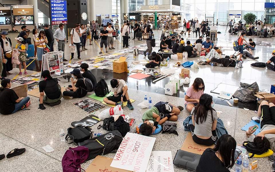 Ο φόβος «κίτρινης επανάστασης» στο Χονγκ Κονγκ