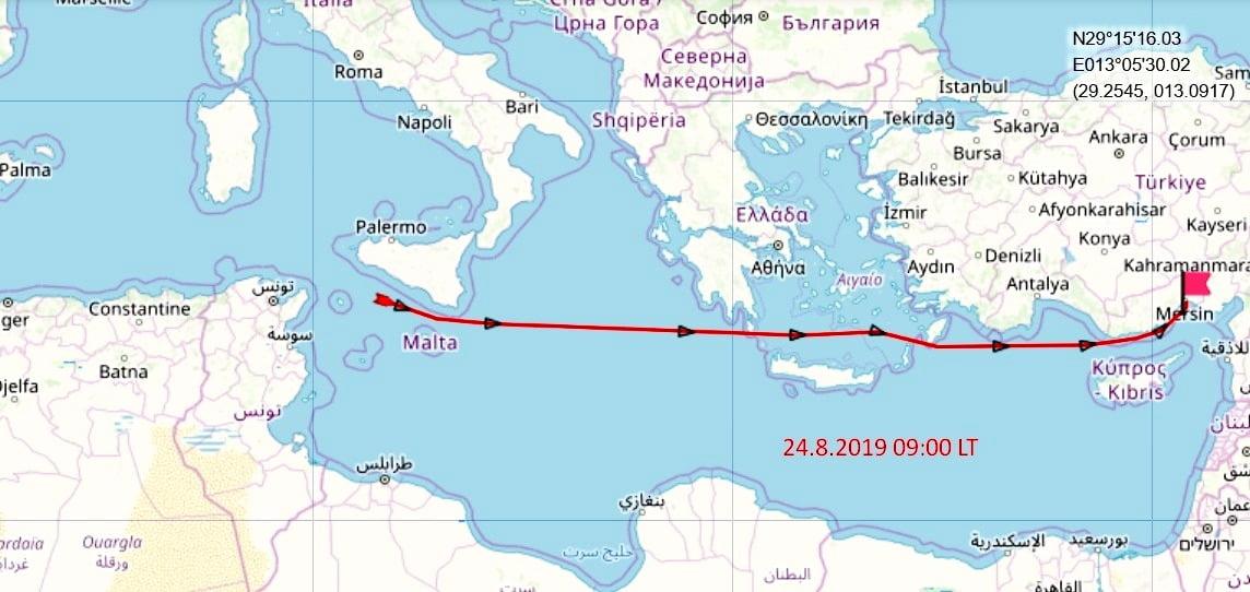Συνεχίζεται το θρίλερ: Άλλαξε ρότα το ιρανικό τάνκερ, κατευθύνεται προς την Τουρκία