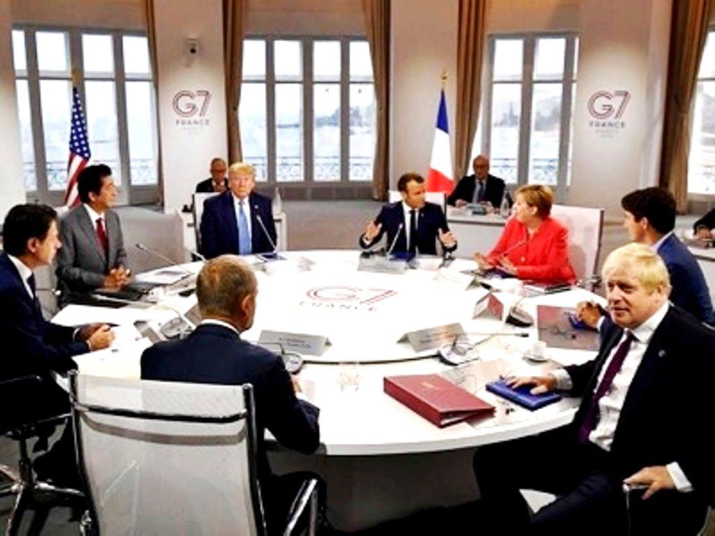 Η επικοινωνία, το μόνο διακύβευμα στη σύνοδο κορυφής της G-7 στο Μπιαρίτς