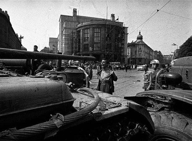 Η Σοβιετική εισβολή στην Τσεχοσλοβακία