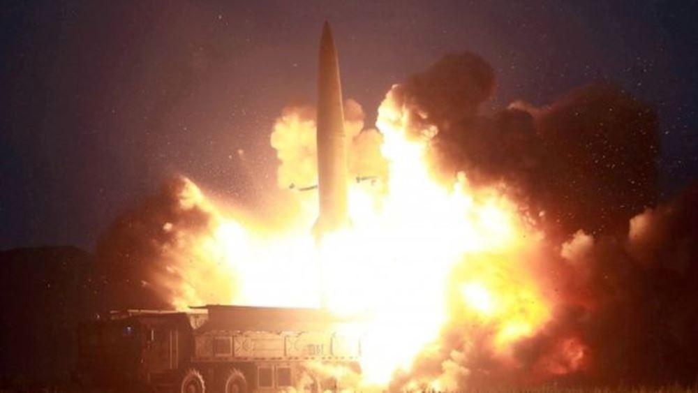 """Β. Κορέα: Νέες εκτοξεύσεις πυραύλων """"αγνώστου τύπου"""""""