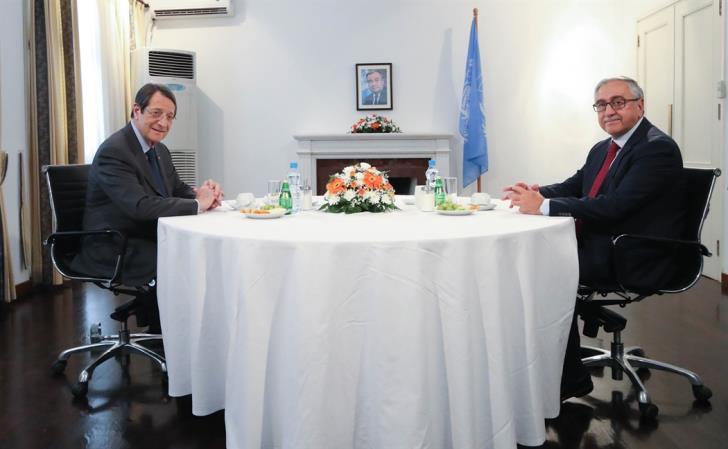 Ετοιμότητα για Τριμερή με ΓΓ ΟΗΕ εξέφρασαν ο Πρόεδρος της Δημοκρατίας Αναστασιάδης και ο Ακιντζί
