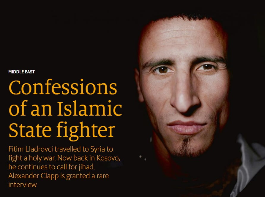Confessions of an Islamic State fighter