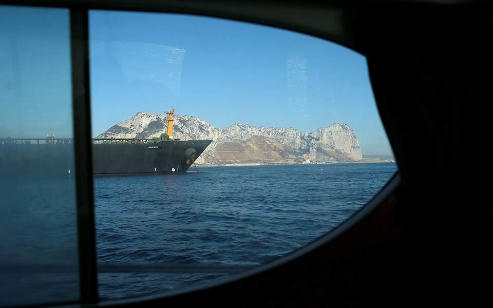 Το ιρανικό δεξαμενόπλοιο αναχώρησε από το Γιβραλτάρ