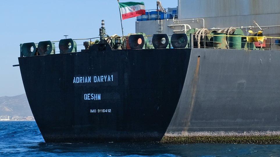 Πομπέο: Όποιος προσφέρει βοήθεια στο ιρανικό τάνκερ, κινδυνεύει με κυρώσεις