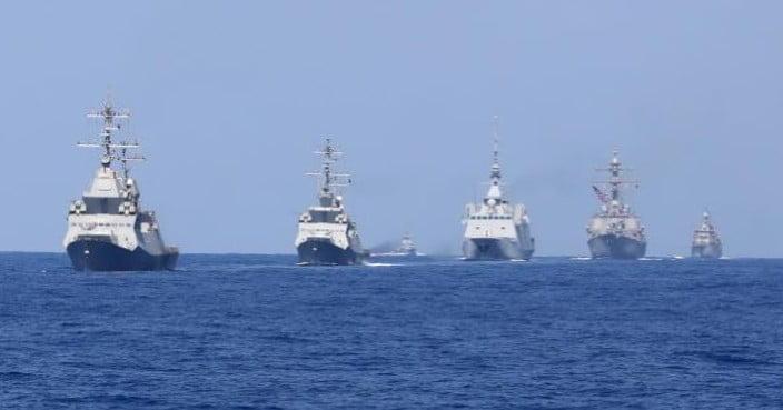 H Κύπρος σε άσκηση του ισραηλινού Πολεμικού Ναυτικού