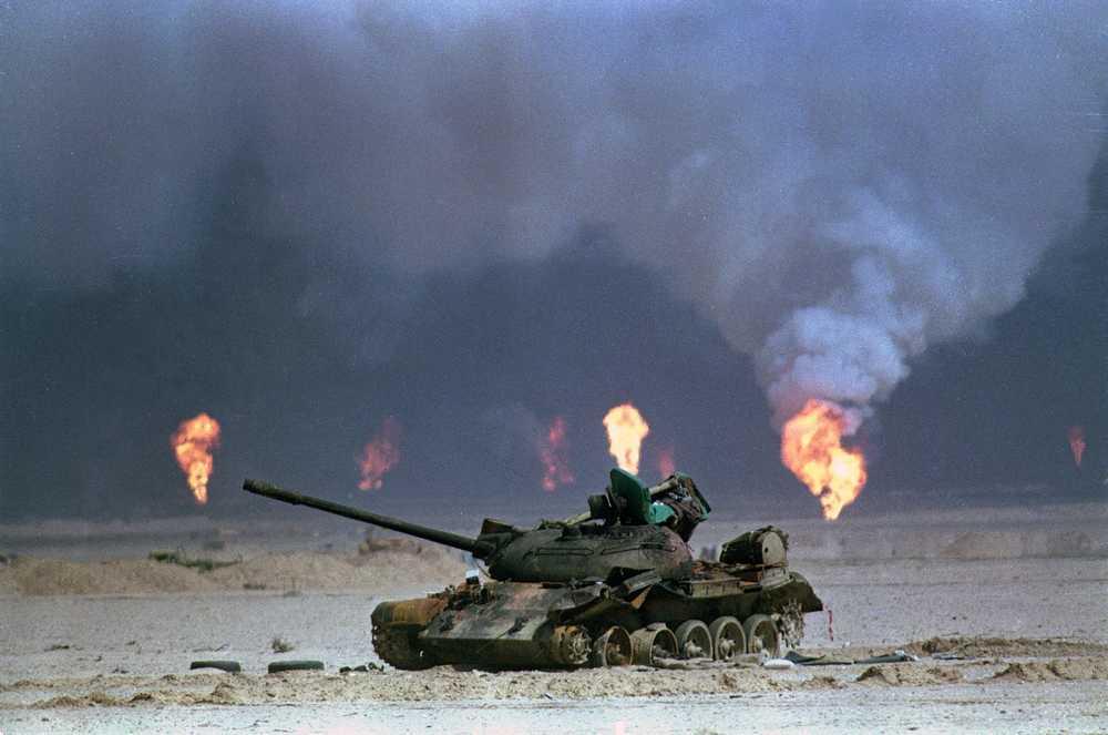 """H μέρα που οδήγησε στην """"Καταιγίδα της ερήμου"""" και στον Α' πόλεμο του Κόλπου"""