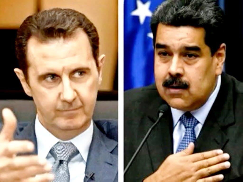 Η εθνική ενότητα στη Συρία και τη Βενεζουέλα
